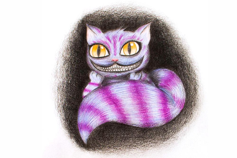 Ah! nuestro querido Cheshire... que no falte