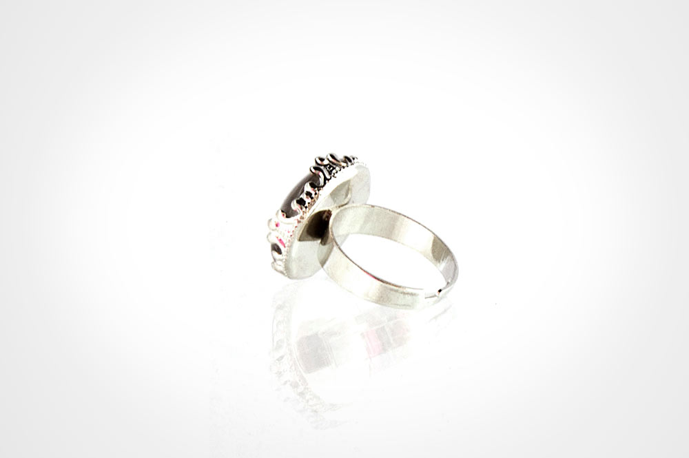 anillo caperucita plata tras