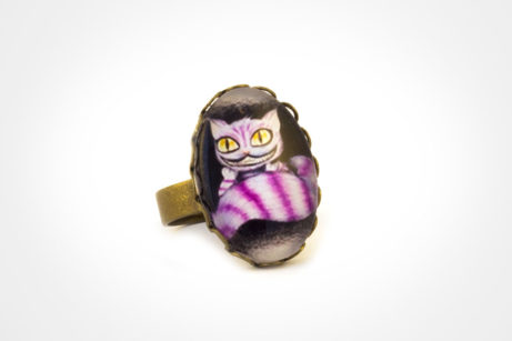 anillo cheshire bronce