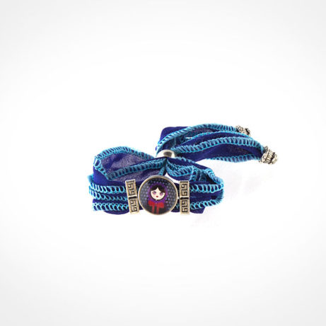 Pulsera seda Monstrioska