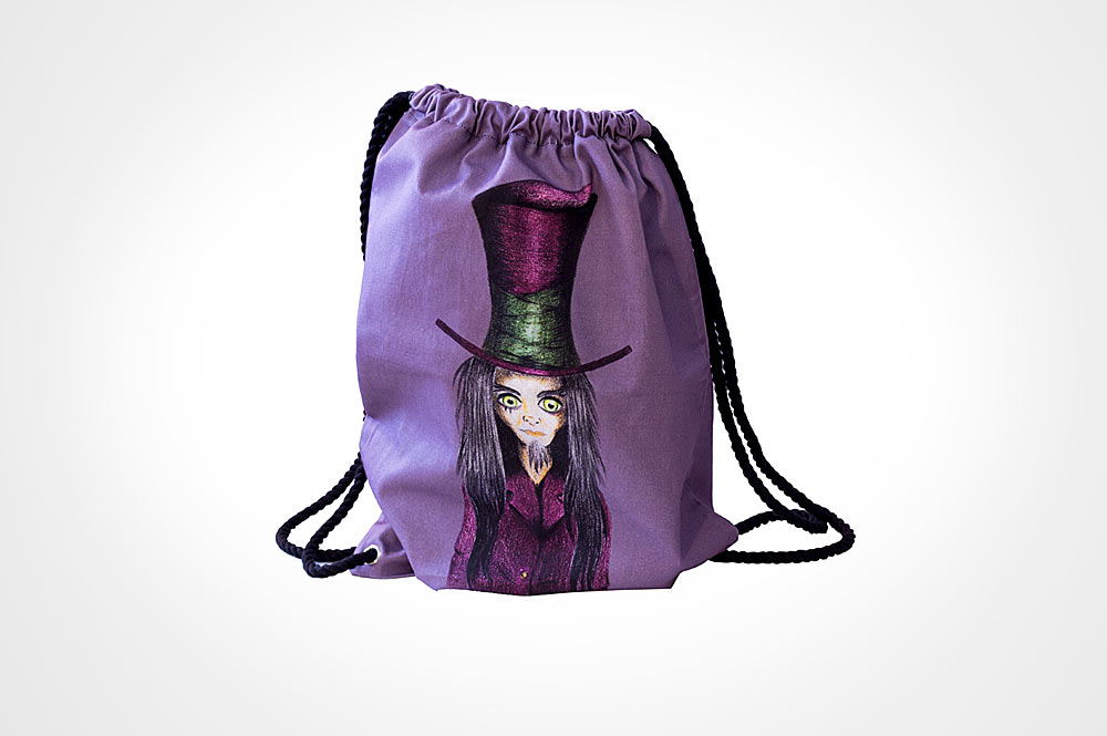 Bolsa mochila sombrerero