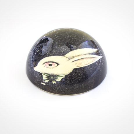 Pisapapeles Conejo transparente