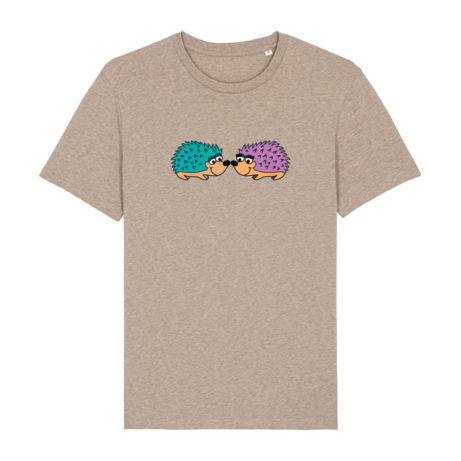 Camiseta Unisex erizos arena