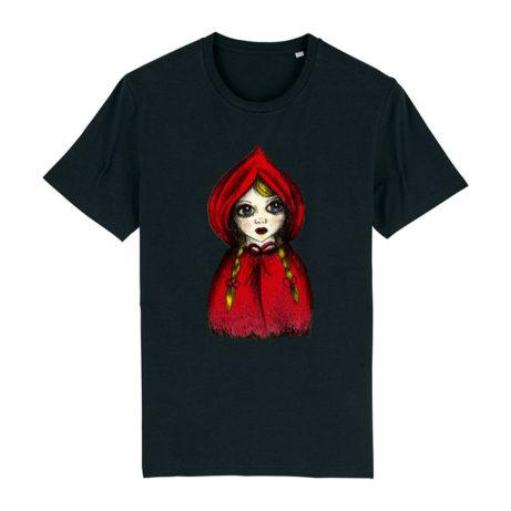 Camiseta Unisex Caperucita negra